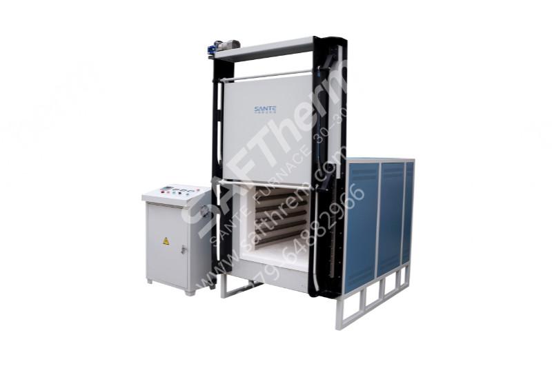 1200℃自动门箱式炉